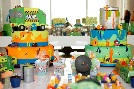 Aniversário: tema Trash Pack « Constance Zahn – Blog sobre bebês e crianças para mães antenadas