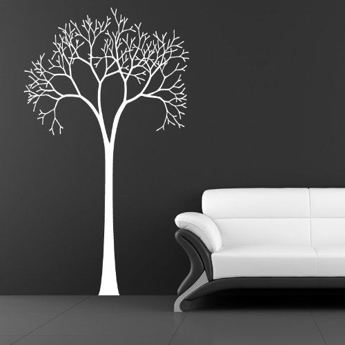 Beautiful tall tree with empty branches wall art - Wall Stickers Home/Room Decors Decals - 20cm Height*W Auto by GetitStickit, http://www.amazon.co.uk/dp/B00A86N210/ref=cm_sw_r_pi_dp_2aW7rb16M7WHY