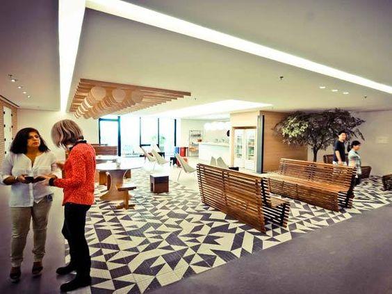 Micro Kitchen Liberdade do novo escritório do Google Brasil