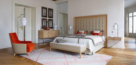 Roche Bobois - EPOQ BED design Pierre Dubois & Aimé Cécil