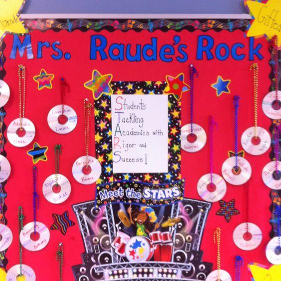 Rock Stars Bulletin Board ;)