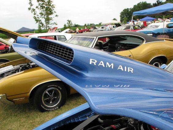 1974 Firebird Formula Ram Air : Pontiac firebird formula ram air hood the