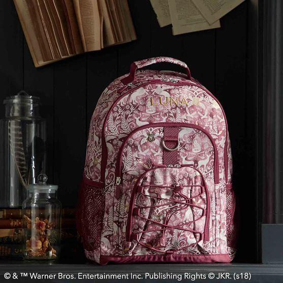 POTTERY BARN TEEN HARRY POTTER  BACKPACK BAG HOGWART/'S HOUSE GEAR UP SLYTHERIN