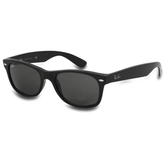 Ray-Ban New Wayfarer Sunglasses ($125) ❤ liked on Polyvore