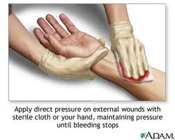 First Aid for cuts