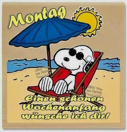 Montag Bilder Snoopy Montag Montagbildersnoopy Guten