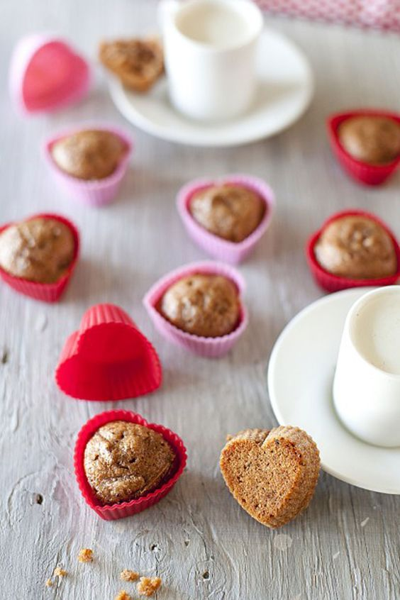 Whole Wheat Cranberry Applesauce Muffins