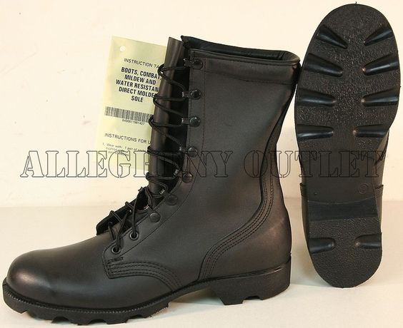Details about NEW US Military FULL LEATHER Speedlace PANAMA SOLE ...