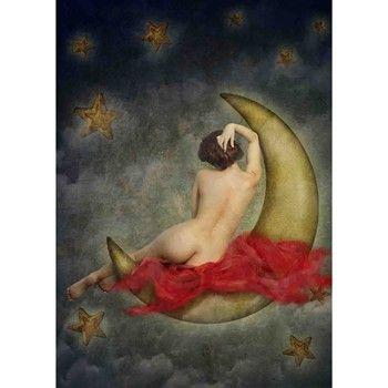 Lé papiers de Ninon - Ask the moon - Affiche