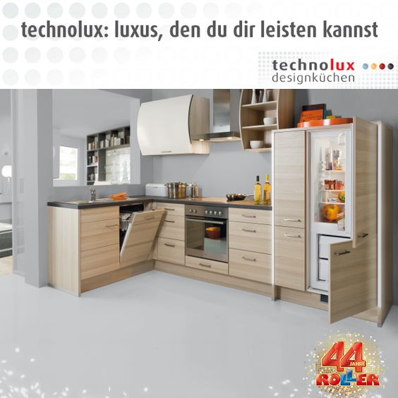 Designküchen bei ROLLER: http://www.roller.de/technolux ... | {Designküchen 51}