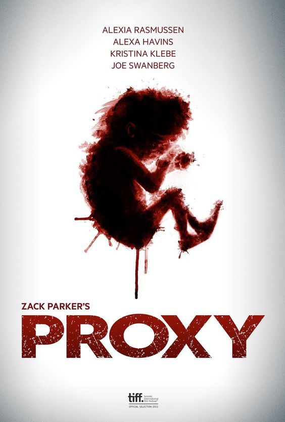 Proxy Language : English  Genre : Drama , Horror ,Thriller  Duration : 2h 00mn  Size : 485 MB  Quality : 480p Bluray  Release Year : 2013  Submit By : Anonymous  Release NameNew : Proxy.2013.480p.BluRay.x264-mSD  Description : The life of three parents who have all shared the loss of a child. Motives are not what they seem and sanity is in short supply in this thriller.