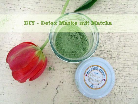 Detox Maske mit Matcha