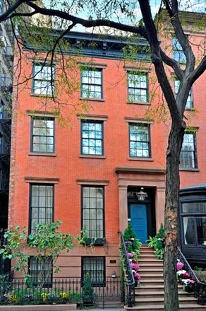 Greenwich village townhouse and manhattan on pinterest for Manhattan townhouse for sale