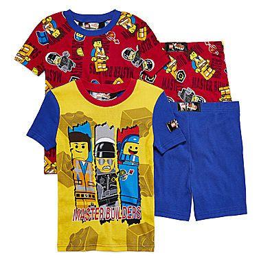 jcp | Lego Movie 4-pc Pajama Set - Boys 4-10