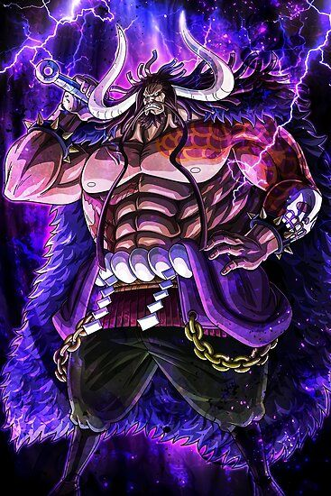 Kaido - One Piece' Poster by Raed-D-Artist en 2020   Dessin one ...