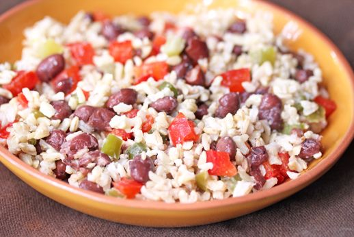 Fiesta Beans and Rice Recipe: Rice And Bean Recipe, Beans And Rice Meals, Beans And Rice Budget, Rice Recipe, Beans Recipes, Dried Beans Recipe, Rice And Beans Recipe, Rice And Beans Meal, Budget Recipe