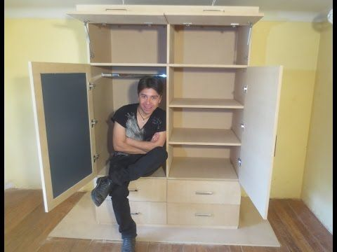 Armando y pintando un estante de madera youtube videos - Como hacer estantes de madera ...