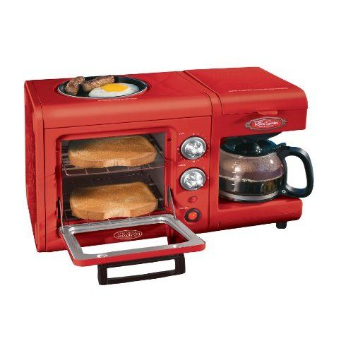 Nostalgia Electrics BSET100CR 3 in 1 Breakfast Station. Amazon actually has a few different 3-in-1's.