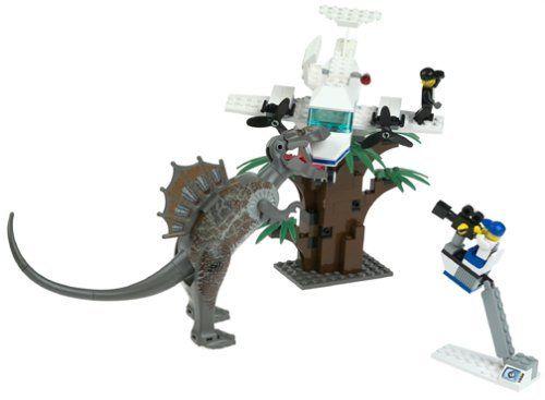 Elicottero Jurassic Park : Lego studios set spinosaurus attack studio jurassic