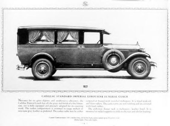 1927 Cadillac Hearse ~
