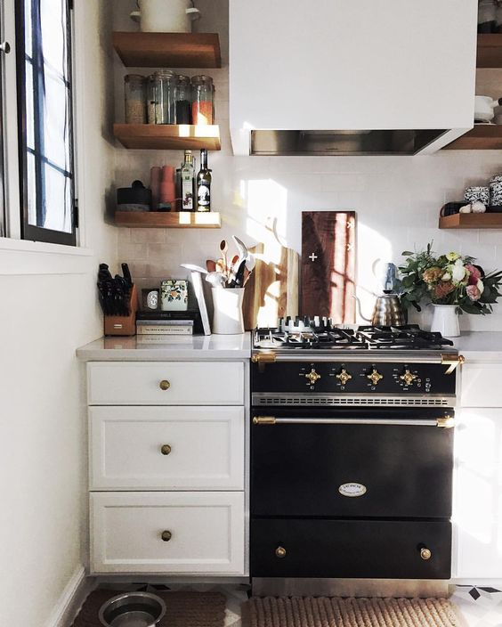 Regale, Küchen and Alter Herd on Pinterest