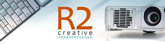 Apresentações: diferencial no momento da comunicação. Você já tem a sua?    R2 Creative: especializada na criação de apresentações profissionais e de excelente qualidade visual!
