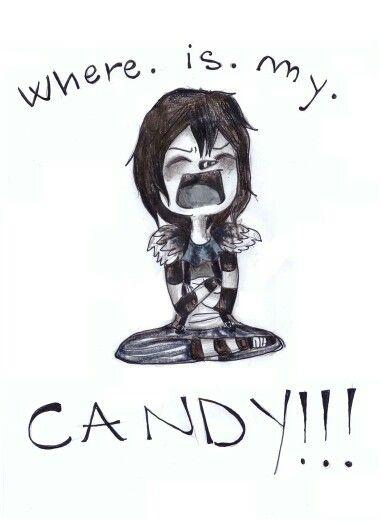 Aww, poor lj  Me: HEY LJ LJ:*sniffles* WHADDYA WANT!!!??? Me: I got chu more candy~*takes out stash of candy...* LJ:YAAAAAAAAAAAAAAAAAAAAAAAAYYYYYYYYY!!!!!!!!!!!!!!!!
