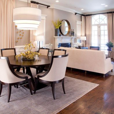 Attractive Open Concept Room  I Like The Round Table U0026 Rug. | Home Decor  That I Love | Pinterest | Open Concept, Rounding And Room