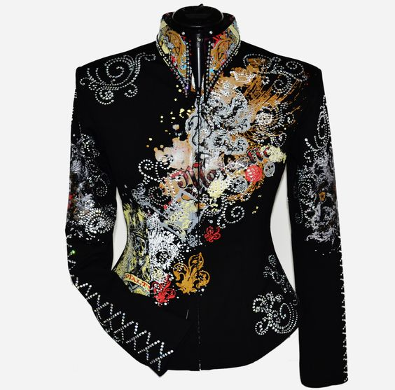 Majestic Rebel, $800.00 by Lisa Nelle Show Clothing