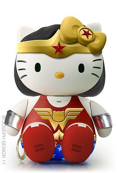 Hello Wonder Kitty ~by yodaflicker, via Flickr.