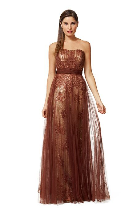 """Style 5237 - Liancarlo Evening Dress- """"Rose Border"""" embroidery on ..."""