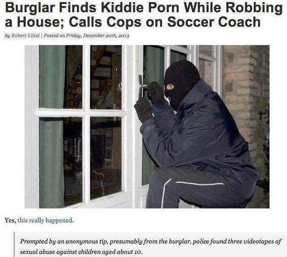 auch Einbrecher können gute Menschen sein