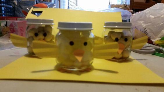 Chickadee jars