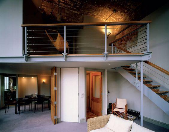 nur wegen Prinzip offene Treppe ohne Treppenhaus
