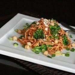 spicy sesame pasta