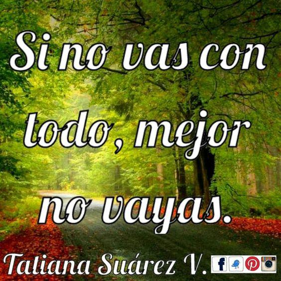 Échale todas las ganas a cada cosa que haces. #Ekánta #PNL #TatianaSuárezV #Reiki #Cristales #SonidoSanador #Bienestar #VivePositivo