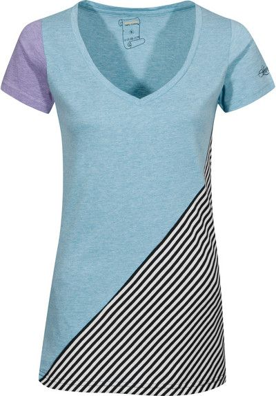 Rules Properties-II T-Shirt türkismottled-stripe | Titus Onlineshop