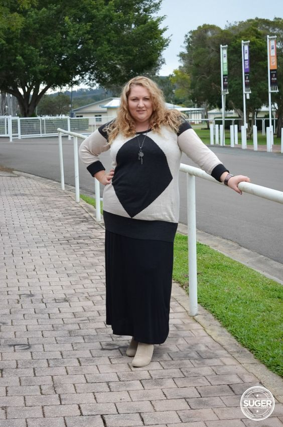 Aussie Curves: Oversized {She Wore What} #plus #size #fashion #blog #aussie #curves #aussiecurves