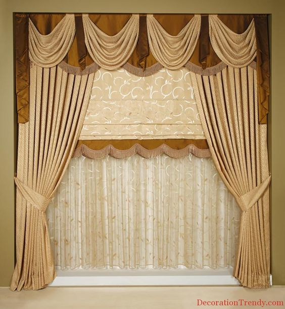 Curtains Ideas best curtain fabric : 2014 modern curtain fabric models design decor 14 Best Curtain ...