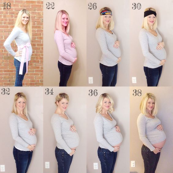 Pregnant Bellies Week By Week 99