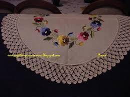 Resultado de imagem para toalhas de croche redonda