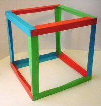 discovery box building with paper (dutch)
