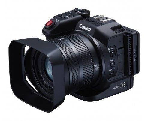 Máy quay Canon XC10 chính thức lên kệ