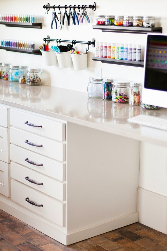 Craft room cabinet. Craft room Storage. #Craftroomcabinet #CraftroomStorage…: