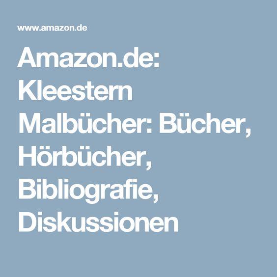 Amazon.de: Kleestern Malbücher: Bücher, Hörbücher, Bibliografie, Diskussionen