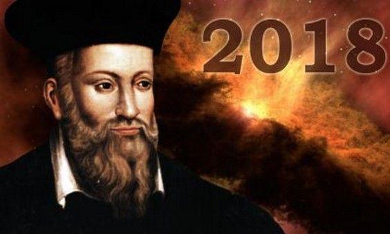 """""""Les prédictions de Nostradamus pour l'année 2018"""""""