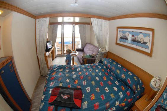 Verandah Room Balcony On Disney Cruise Lines Disney