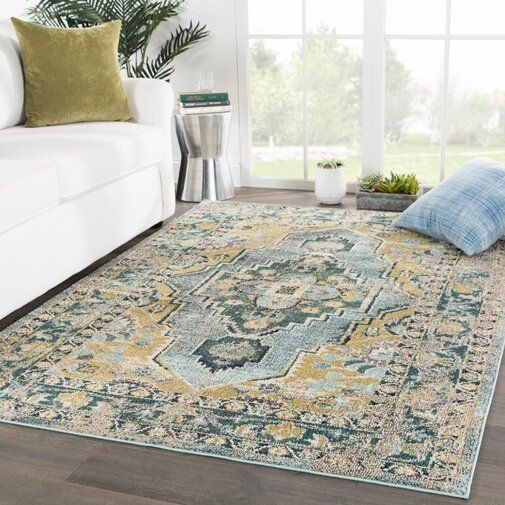 Middletown Medallion Blue Beige Area Rug Green Area Rugs Area