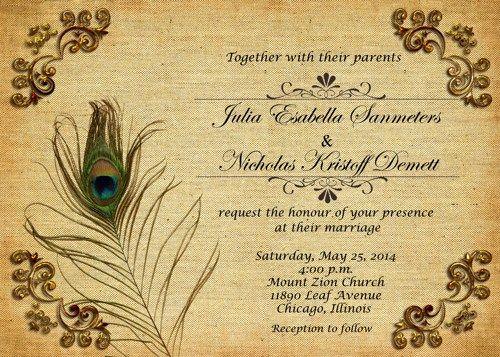 Invitation Card Design Digital Marriage Invitation Card Blank Wedding Invit Peacock Wedding Invitations Marriage Invitation Card Wedding Invitation Card Design