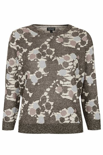 We are adoring the bronze print this week, also comes in this knitted top.  http://www.iamintothis.com/2013/11/all-latest-from-shops-high-street.html
